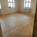 Historische Fußboden -WG BV Wittstock- Alt -Dielung